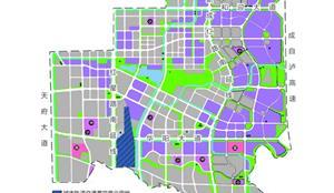成都公布天府新区核心区域详细规划用地布局方案