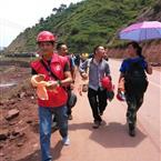 四川入滇建筑企业走在鲁甸抗震救灾第一线